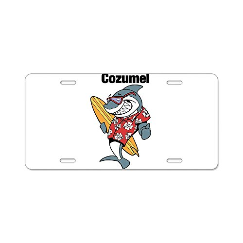 CafePress - Cozumel, Mexico - Aluminum License Plate, Front License Plate, Vanity Tag