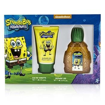 SpongeBob SquarePants Eau De Toilette Spray and Shower Gel Gift Set SPG-SPG-M-00-050-04