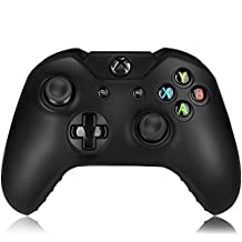 Flexible Silicone Protective Case skin For Xbox One Game Controller Console(Black)