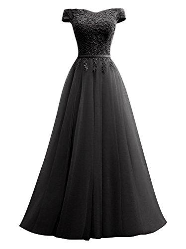 A Langes Mädchen Rueckenfrei Rot Ausschnitt für Linie Kleid Elegantes Abendkleid V Spitze AdBffq