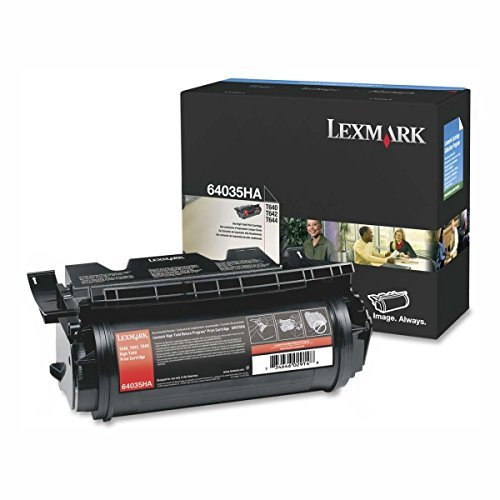 Compatible Lexmark 64015HA 64015SA 64035HA 64035SA 21K High Yield Toner Cartridge for T640, T642, T644 Series Printers (Series Printers T644 T642)