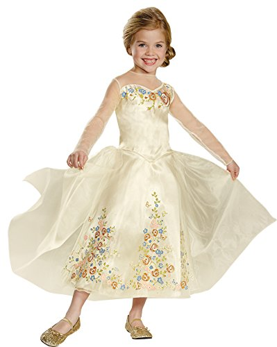 Child Wig Movie Cinderella (UHC Princess Cinderella Outfit Theme Wedding Dress Child Halloween Costume, Toddler M)