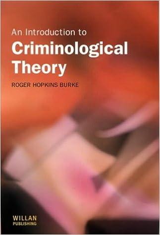 criminology theories chart