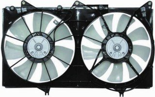 QP T600U-a Toyota Camry Replacement AC A/C Condenser Radiator Cooling Fan/Shroud Assembly A/c Cooling Fan Shroud