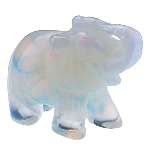 Top Plaza Gemstone Elephant Synthetic