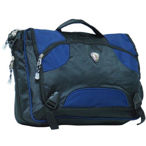 lue 18-inch Premium Expandable Laptop Messenger Bag ()