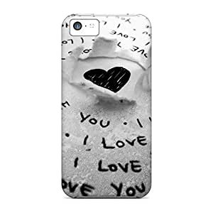 Premium Love You Back Covers Snap On Cases For Iphone 5c