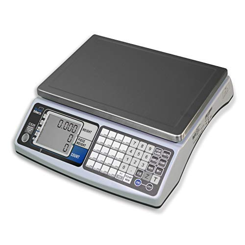 SCALEMART CS20 Weighing/Counting Scale - 6 lbs x .0002 lbs (6 Scale Bank)