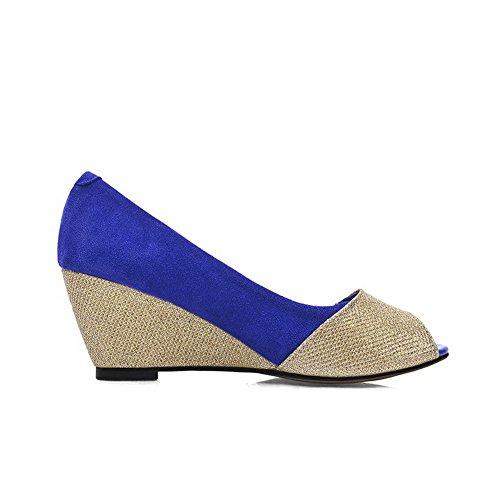 Peep Materiaaleja Sininen Väri Valikoima Naisten Sekoitus Heels Kitten Sandaalit Vedä Voguezone009 Toe qTZCEg