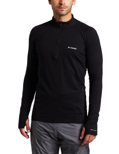 Columbia Men's Baselayer Midweight 1/2 Zip Long Sleeve Shirt (Medium, ()