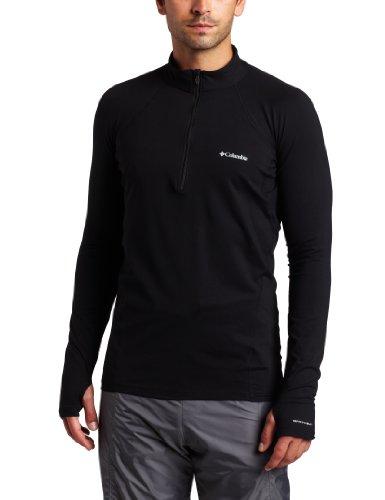 Columbia Men's Baselayer Midweight 1/2 Zip Long Sleeve Shirt (Medium, - Ls 1/2 Zip Shirt