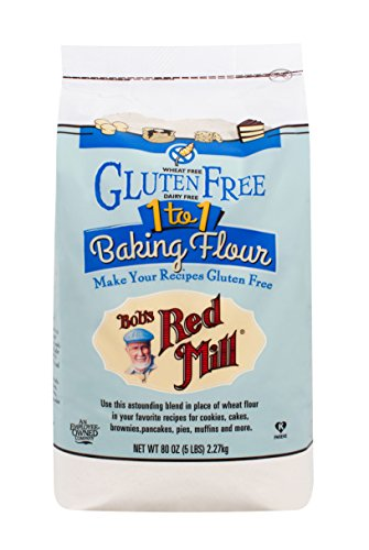 Bob#039s Red Mill Gluten Free 1to1 Baking Flour 5 Pound