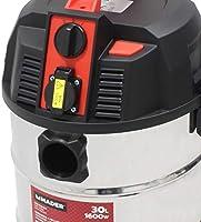 Mader Power Tools 63352 Aspirador Polvo Liquidos Inox 1600W 30L, Multicolor, Talla Única: Amazon.es: Bricolaje y herramientas