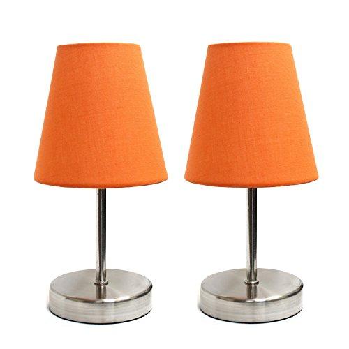 orange table lamp - 4