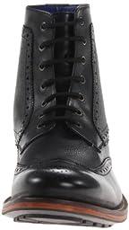 Ted Baker Men\'s Sealls 2 Boot, Black Leather, 7.5 M US