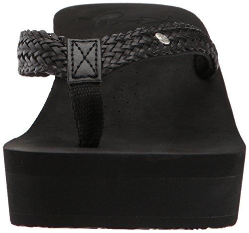 Roxy Womens Mellie Wedge Sandal Mellie Wedge Sandal Black jcjfHPeF