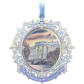 (2009 White House Holiday Christmas Tree X-Mas Ornament)