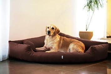 tierlando TR4 - 01 Perro Juego de Cama Esquina Esquina Cama Perro Cama Perro Cama sofá para Perros Tamaño L 100 cm marrón: Amazon.es: Productos para ...