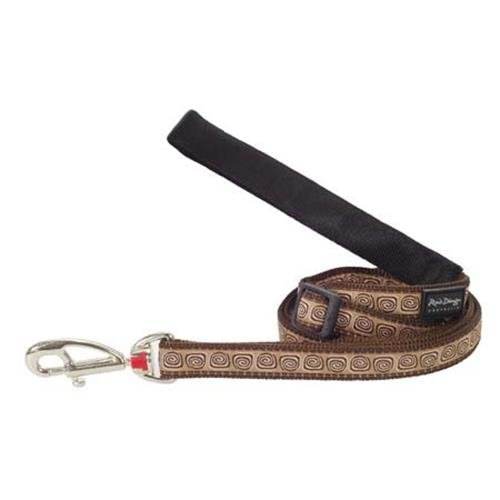 Red Dingo Hypno Brown dog lead 4-6 ft Medium