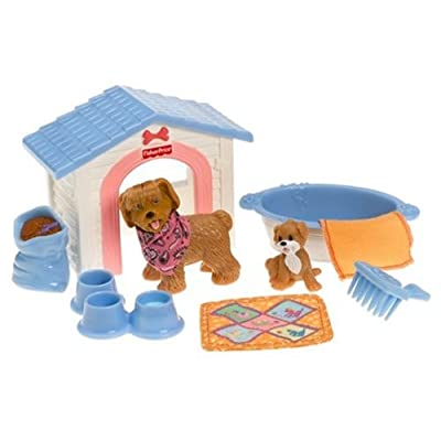 Fisher-Price Loving Family Puppy Playtime: Toys & Games