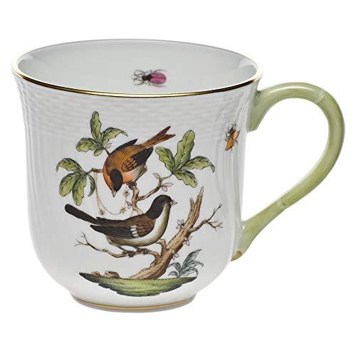 Herend Rothschild Bird Porcelain Coffee Mug Motif 4