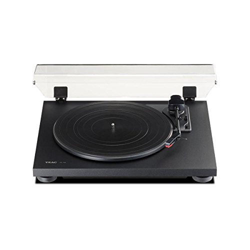 TEAC Classic Belt-Drive Turntable with Preamp and USB Digital Output (Black)