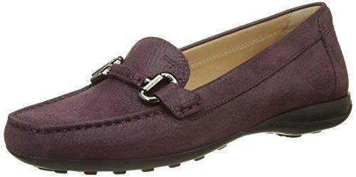 prune Donna Femme Geox Violet Mocassins Euro D loafers 0xHdAqP4