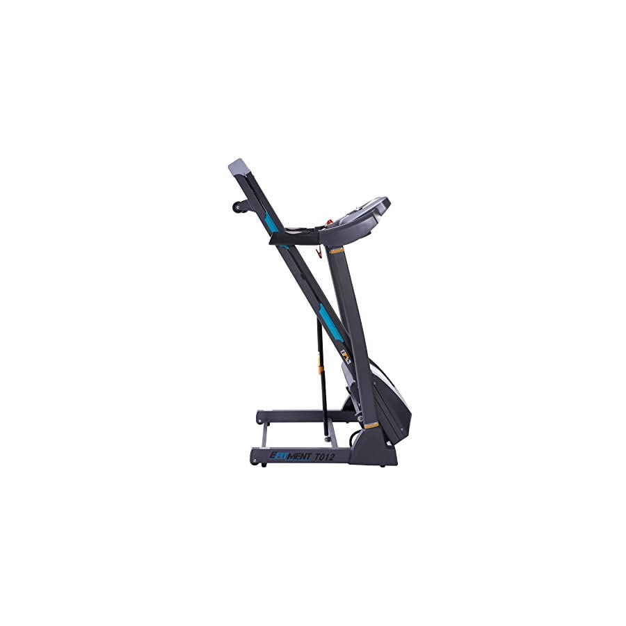 EFITMENT Auto Incline Bluetooth Motorized Treadmill w/Speakers & Folding for Running & Walking T012