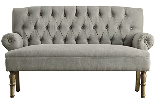 Barryknoll Settee (Gray) from Charlton Home