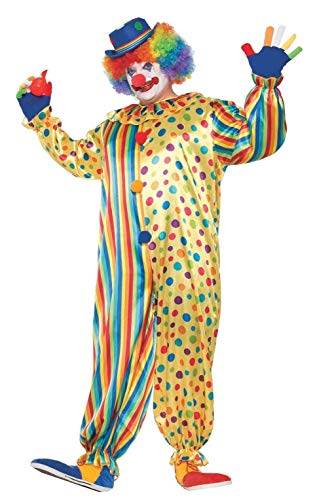 Disfraces De Payaso Para Halloween (Forum Novelties Men's Spots The Clown Costume, Multi,)