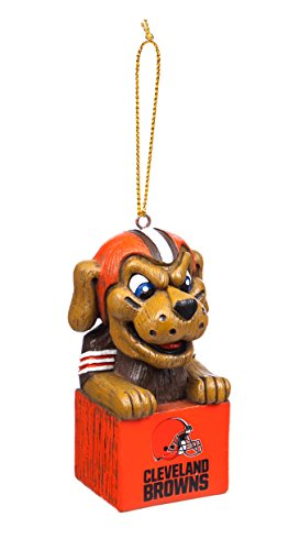 Team Sports America 3OT3807MAS Cleveland Browns Mascot Ornament