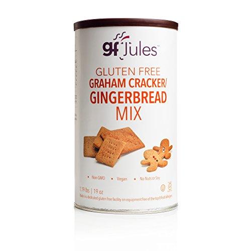 (gfJules Gluten Free Graham Cracker - Gingerbread Mix 1.19 lbs, Pack of 1 )