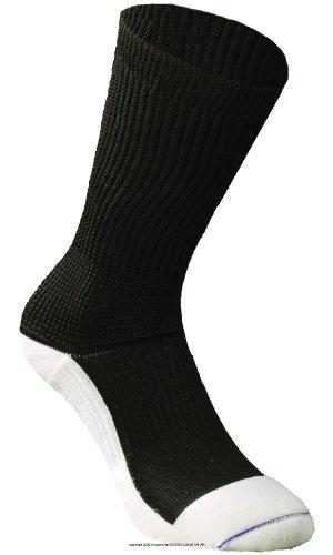 (Euros Rx Diabetic Crew Socks, Diab Crew Sock Blk Lg, (1 EACH, 1 EACH) )