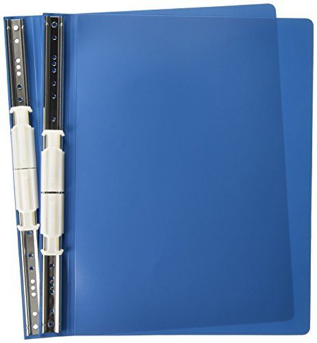 ACCO Hanging Data Binder with Accohide Covers, 12 x 8.5 Inches, Blue (56133)