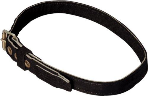 Miller by Honeywell 6414NL/LBK Miners Nylon Body Belt with 1-3/4-Inch Webbing and Lamp Strap, Large, Black - Miller Body Belts