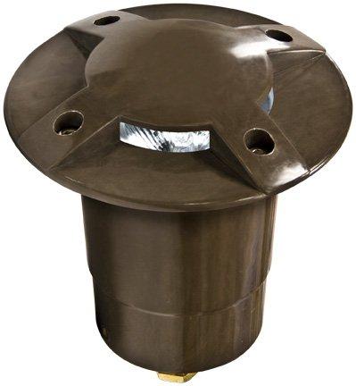 Dabmar Lighting FG320 Fiberglass In-Ground Well Light, Bronze
