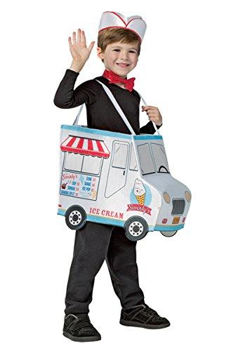 Ice Cream Fancy Dress Costume (Rasta Imposta Swirly'S Ice Cream Truck Child Costume 4-6X)