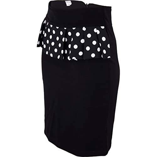buy popular bf0f4 ff719 free shipping Damen Rock Polka Dots Punkte Bleistiftrock ...