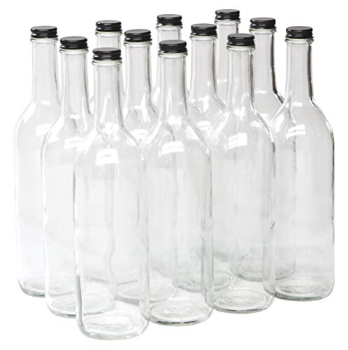 North Mountain Supply 750ml Clear Glass Bordeaux