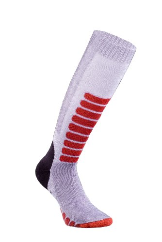 Eurosocks Ski Supreme Socks, Grey, Large