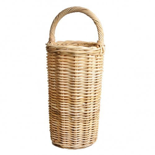 Dille & Chamomile Basket Rattan Kobo, 77cm, diameter 32cm Dille & Kamille