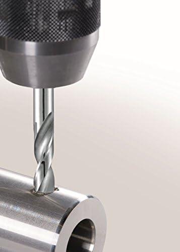 Alpen 100910100 HSS-ECO KM-PZ Stub Drills, Grey, Set of 10 Pieces