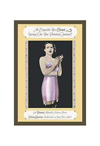 (Buyenlarge Exquisite New Corset Print (Canvas Giclee 12x18) )