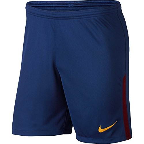 c433b6509 Galleon - NIKE Mens 2017 18 FC Barcelona Home Shorts Deep Royal Blue University  Gold 847257-455 Size Small
