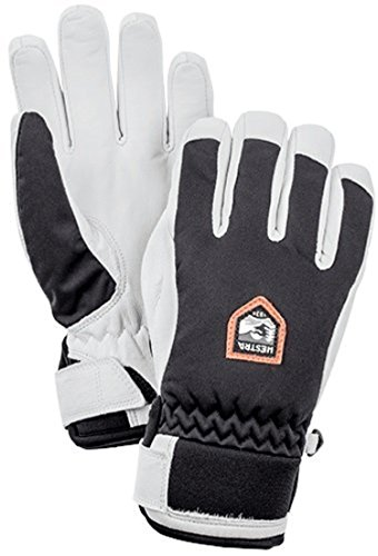 Hestra Women's Moje CZone 5 Finger Gloves Black 8 & Knit Cap Bundle by Hestra, USA