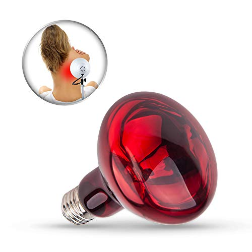 Near Infrared Light,Serfory Red Light Therapy Bulb for Joint Shoulder Back Pain 100W