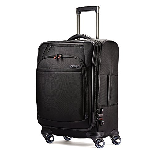 Samsonite Pro 4 Dlx Expandable Spinner 21, Black
