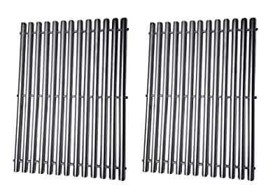 BBQration Replacement Stainless Steel Cooking Grid Grates Parts for Great Outdoors,Charbroil 463250509, 463250510, Thermos 461262409, Vermont Castings Grills Models