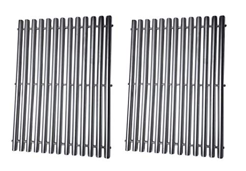 (BBQration Replacement Stainless Steel Cooking Grid Grates Parts for Great Outdoors,Charbroil 463250509, 463250510, Thermos 461262409, Vermont Castings Grills)