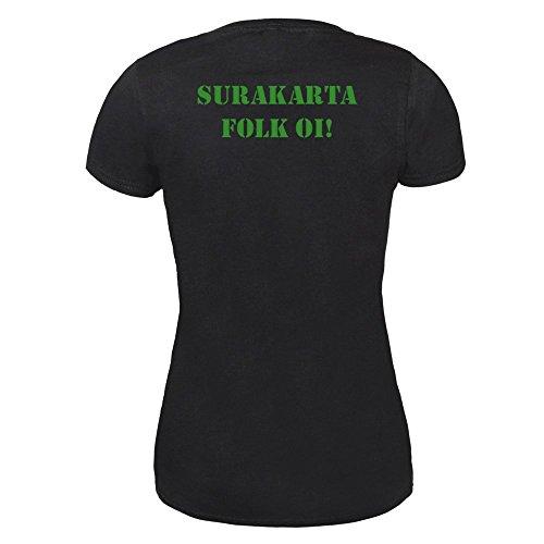 "Working Class Symphony, The ""Surakarta Folk Oi!"" Girly Shirt (L)"